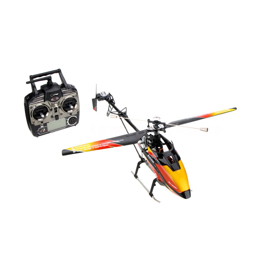 WLtoys V913 Brushless Upgrade RC Helicopter DRONE 4Ch RTF