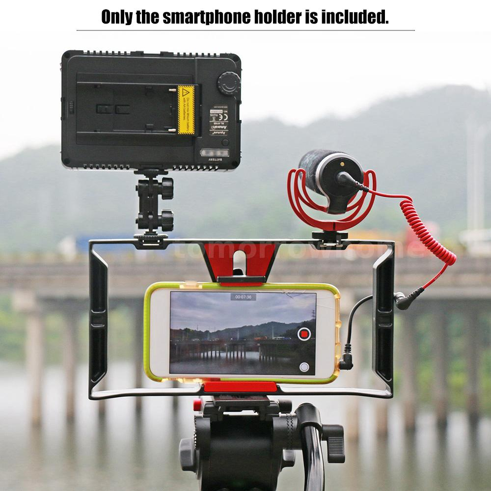 iphone filming rig stabilizer rig cage for iphone 11839