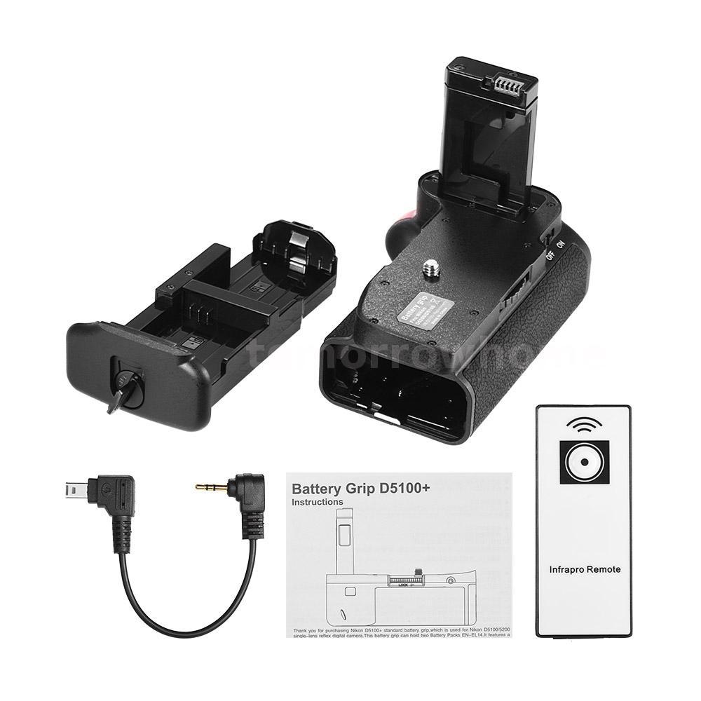 Details about Vertical Battery Grip Holder for Nikon D5100 D5200 DSLR on