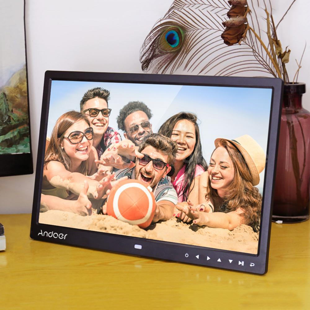 Andoer 131080p hd digital photo frame mp43 movie player remote andoer 131080p hd digital photo frame mp43 movie player remote control jeuxipadfo Image collections