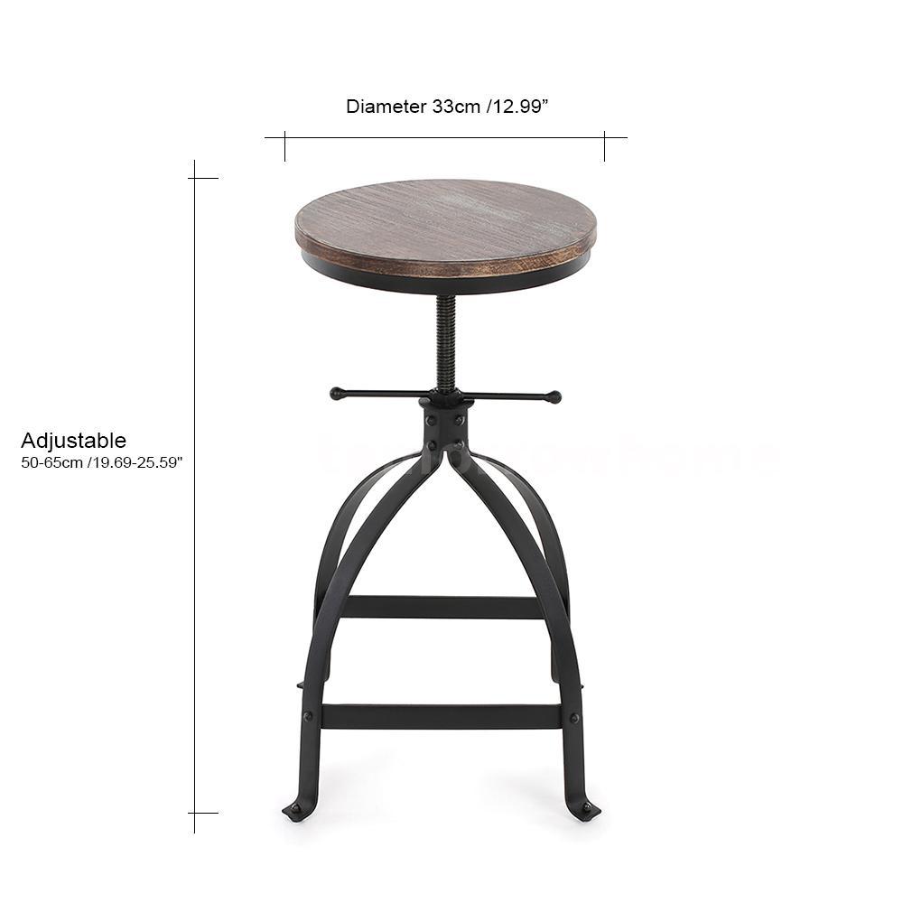 Round Bar Stool Industrial Metal Design Wood Top Chair  : H16839 1 614e tbuk from www.ebay.com size 1000 x 1000 jpeg 44kB