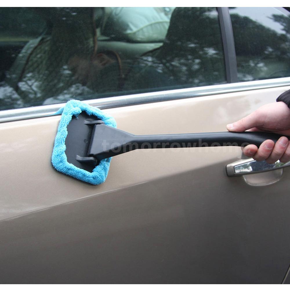 how to clean hazy car windows