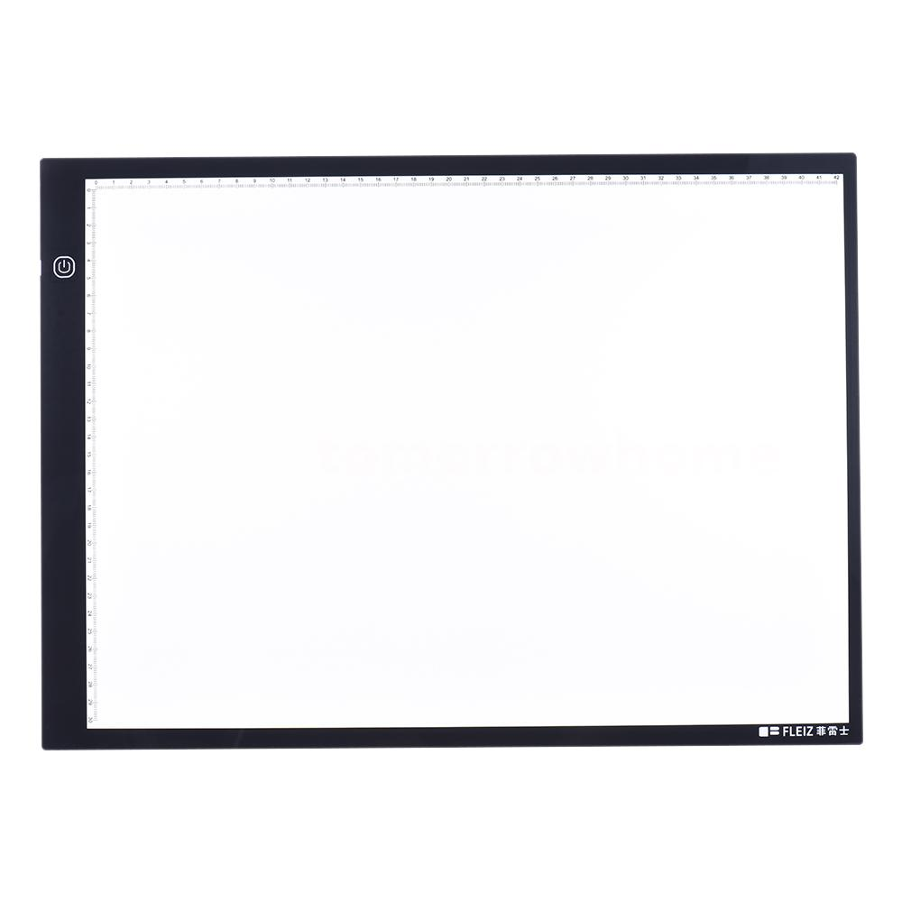 A3a4 led drawing tracing light box tattoo artist stencil panel fantastic led light box drawing tracing board ultra bright can light 300g watercolor paper ideal for stenciling scrapbook sketching tattooing jeuxipadfo Image collections