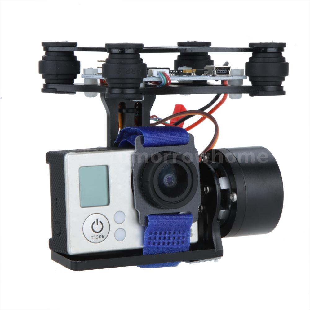 Best cnc fpv bgc 2 axis brushless gimbal fr gopro 3 dji for Dji phantom 2 motor specs