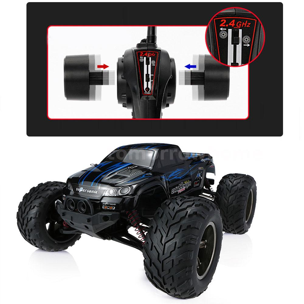 GPTOYS Foxx S911 RC Car Monster Truck 1/12 RWD High Speed Off-Road US ...