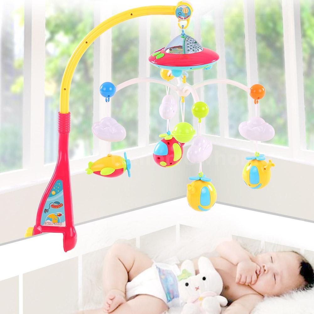 Baby cribs value city furniture - Baby Bed Bell Musical Mobile Crib L Bed Ring Hanging Rotate Bell Rattletoy L7q3