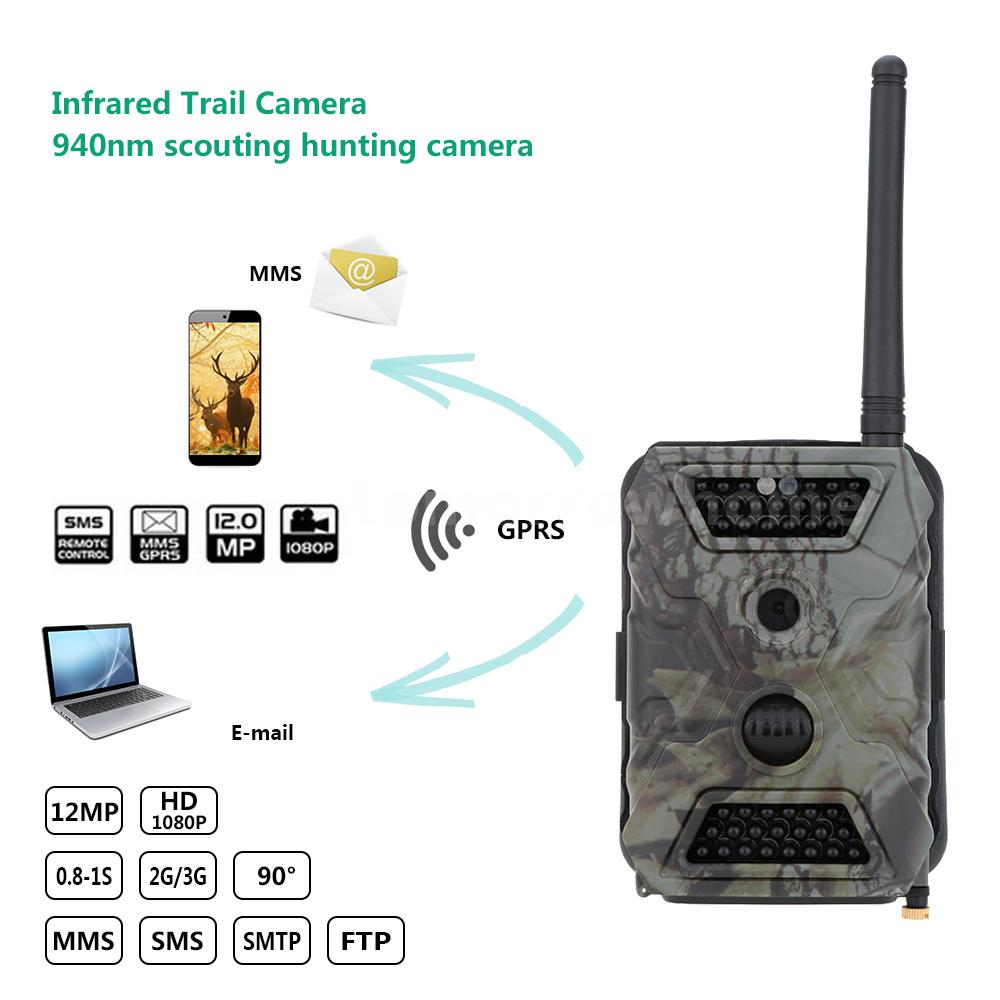 S680 MHD Hunting Trail Digital Camera Scouting Infrared Video MMS GPRS GSM S8A8